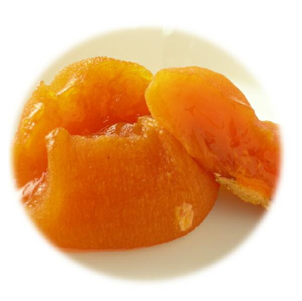まんまるのあんぽ柿、ひらたね柿のあんぽ柿 通常のあんぽ柿はこんな形ですが『ひらたね柿』のあんぽ柿
