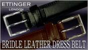ETTINGER/BRIDLE LEATHER DRESS BELT