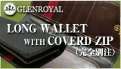 GLENROYAL/LONG WALLET WITH COVERD ZIP