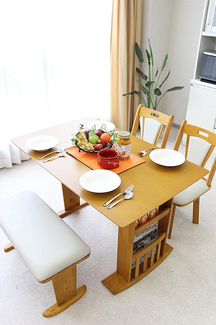Furniture village rakuten global market 90 120 cm wide for Table 120 extensible