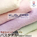 Domestic Imabari towel / Imabari produced new bio scouring processing KuSu POP paletone コットンパイルバス towel ( 60 x 120 cm ) /towel たおる / towel / bath towel/bus たおる
