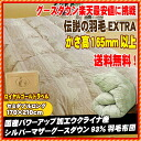 Legend feather duvet 2011 EXTRA semi with power-ups processing new synthetic peach skin processing シルバーグース down new standards for 93% domestic feather duvet semidouble long / goose