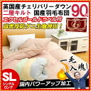 Two levels of 90% of twin kilt kilt white down new standard duvets single long bedding / うもうぶとん / feather covers / feather futon / is single more than domestic shade 145mm