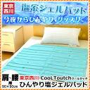 Pad /90 *90cm half size salt gel / cooling mat / Kool mat / chilly gel mat fs3gm with cool bedding salt Tokyo Nishikawa Cool Touch cool touch cool feeling of cold floor