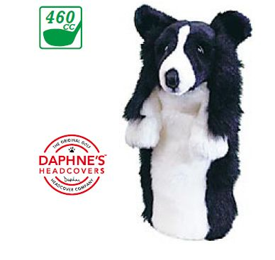 G And H Border Collies Anime head cover 1 W for