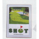 Shot sports towel G-8144 golf house is a person house