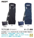 Two colors of travel cover Bridgestone PRECEPT TCT110 NA (dark blue) BK (black) golf houses are person houses
