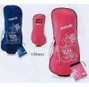 Two colors of travel cover GGB-S008WT pink blue golf houses for Dunlop SRIXON X disney sports (2011) スリクソンレディース are person houses
