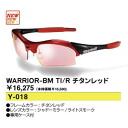 Sports sunglasses swans SWANS titanium red WARRIOR-BM TI/R golf house is a person house