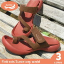 Canoe canoe field, PU suede tong sandals / Lady's /FL-114/ リゲッタ