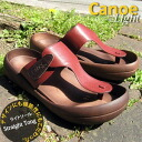 Canoe canoe Sandals & ライトソールストレートトング /light / /CL520 men's regatta
