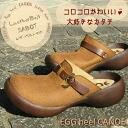 Canoe canoe エッグヒール ベルトサボサンダル and ladies /C590 / made in Japan / regatta