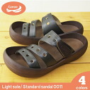 Canoe canoe sandals and ライトソール standard 2011 / light / men's / women's /CL500 / made in Japan / regatta