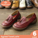 /Regetta リゲッタ made in Canoe canoe egg heel Shoo tassel loafer / Lady's /CJES6103/ Japan