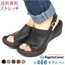 RegettaCanoe / rouwedgheel / stretch covers strap Sandals /CJLW5502 / made in Japan / regatta