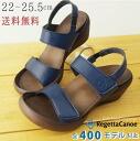 RegettaCanoe / rouwedgheel / doublebelcros strap Sandals /CJLW5505 / made in Japan / regatta
