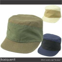 ベーシックエンティ hemp blend stitchwork cap / khaki, beige, navy / men work hat /2010 latest / golf for Lady's