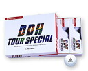 In purchasing more than 5 dozen! DDH tour special golf balls 1 dozen (12 P)