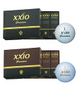 One dozen ダンロップゼクシオ NEW premium golf balls (12p)