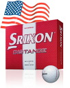 Capable SRIXON Srixon distance golf balls 1 dozen (12 P)