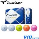 One dozen TOURSTAGE tour stage V10 LIMITED golf balls (12P)