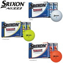 One dozen (12p) SRIXON スリクソン AD333 golf ball fs04gm