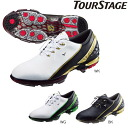◇TOUR STAGE tour stage zero spikes tour SHTP40 golf shoes