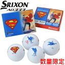 Srixon AD333 golf balls Superman character balls 1 dozen (12 p) Japan spec SRIXON 2014