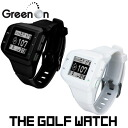 Golf centered THE GOLF WATCH the golf watch Watch (horizontal type) GPS Navi white