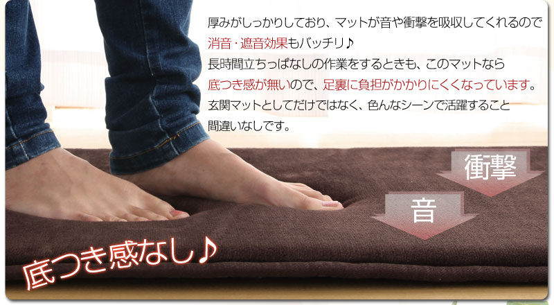 model-bon  라쿠텐 일본: 현관 매트 현관 매트 미끄럼 방지 저 반발 ...