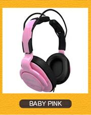 Superlux HD661  BABY PINK BABYピンク モニターヘッドホン