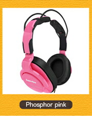 Superlux HD661 Phosphor pink���ָ��ԥ󥯡���˥����إåɥۥ�
