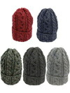 HIGHLAND2000 British Wool Cable Bobcap