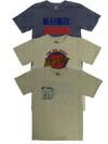 Mixta プリントクルーネックTシャツ 3colors