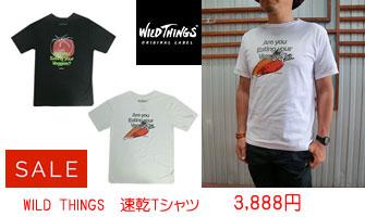 WILD THINGS  速乾Tシャツ