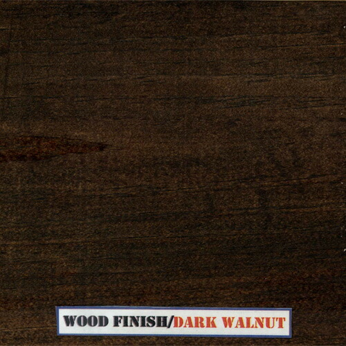 Dark walnut stain on oak for pinterest