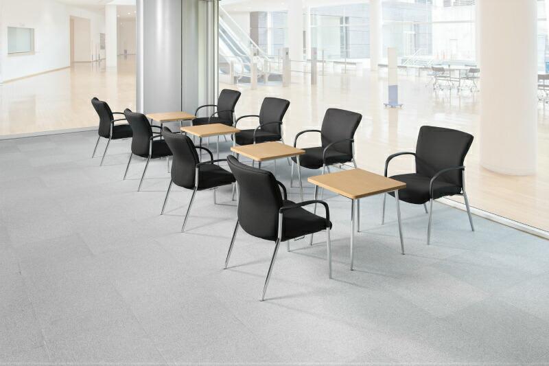 応接ロビーに 休憩室 会議用 アイコチェア テーブル