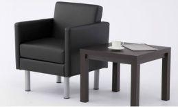 1人用ソファ。テーブルとセットで。