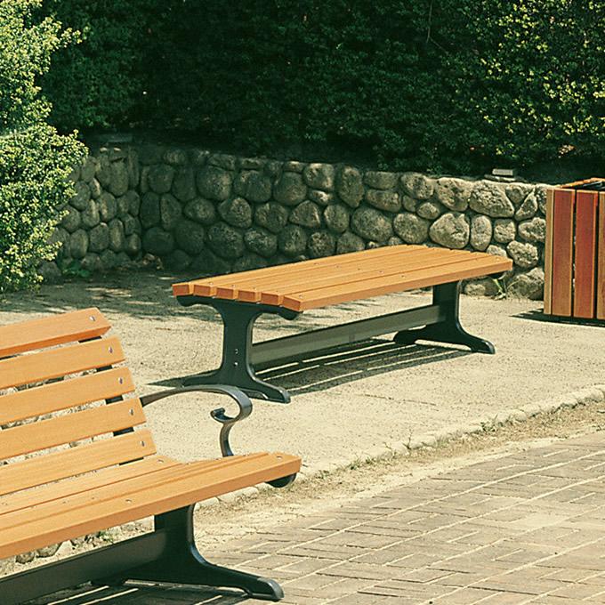 公园长条椅/院子/花园/外部/供サニーベンチ180cm宽/花园长条椅/木制