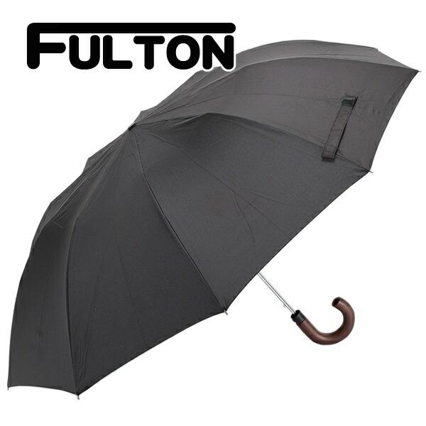 フルトン FULTON 傘 メンズ 雨傘 折り畳み傘 MAGNUM -1 AUTO ブラック G512 5F001 BLACK
