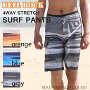 It is native pattern surf underwear 4WAY stretch fast-dry half underwear in a board panties swimsuit men gap view