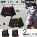 It's just 1,000 yen! Show for pan-surf pants inner ☆ Argyle pattern for men's Board Shorts supporters swimsuit inner supporters fs2gm