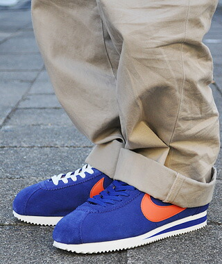 royal blue nike cortez