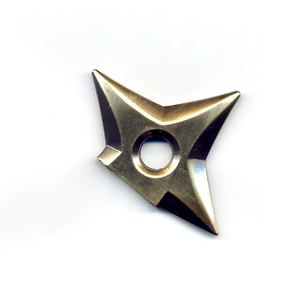 メタル手裏剣マグネット 銀色(ガンメタ)