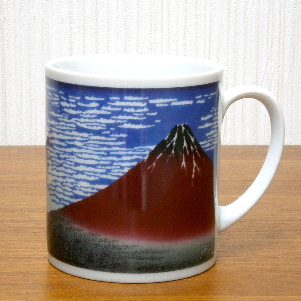 赤富士マグカップ