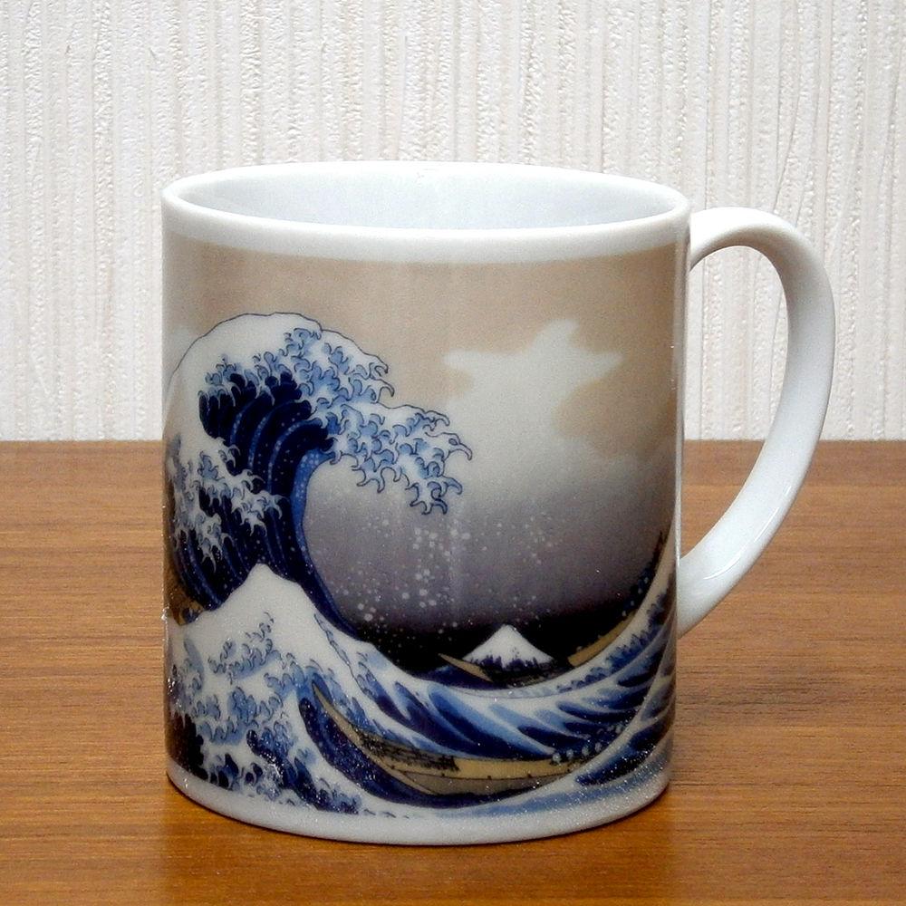 波裏マグカップ