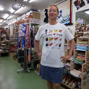 寿司Tシャツ