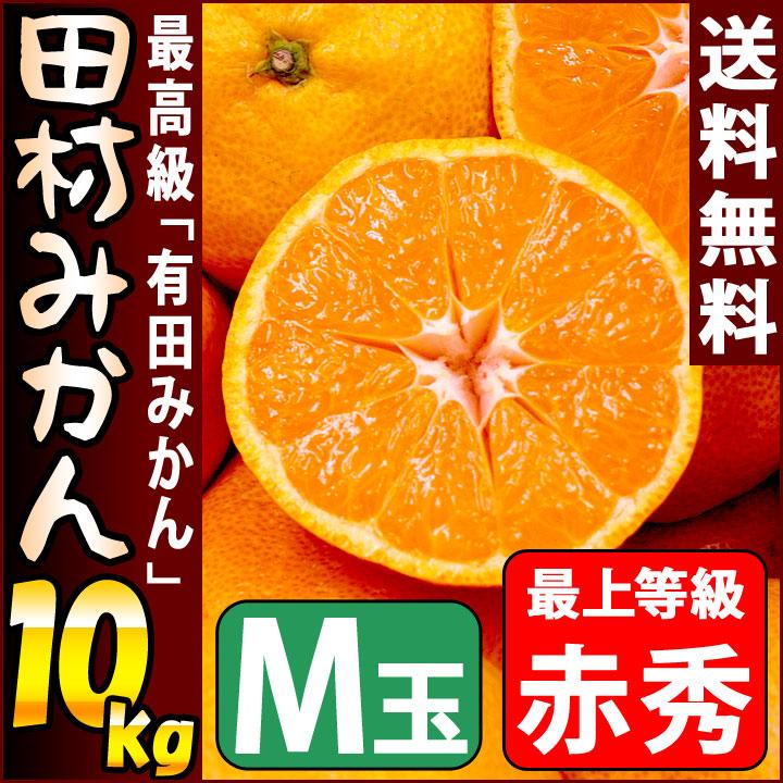 田村みかん 赤秀 10kg Mサイズ 約94個前後入り