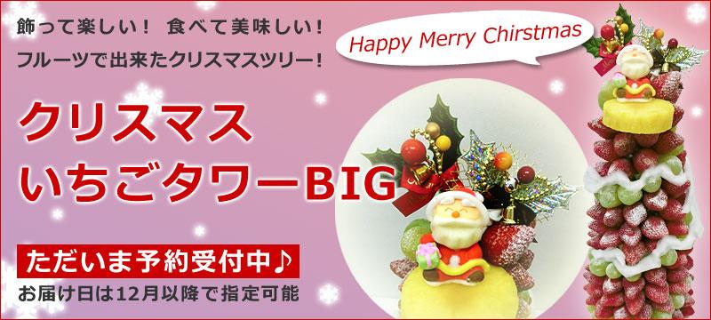 クリスマスいちごタワーBIG