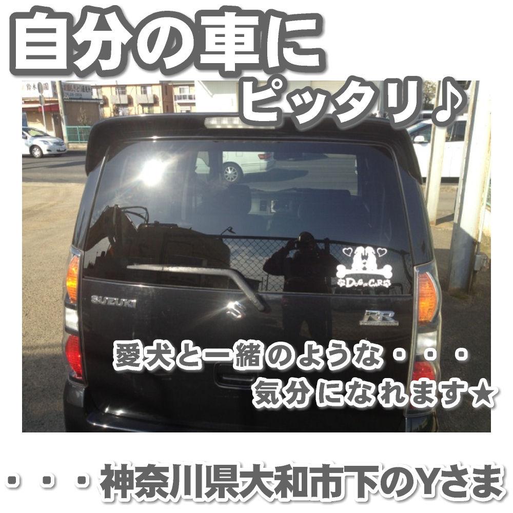 DOG IN CAR ステッカー